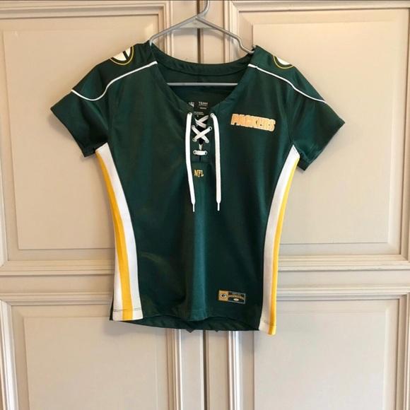 ddeffae4 Authentic NFL Green Bay Packer's women's jersey